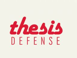 Thesis Defense Structure: Thesis topics political science